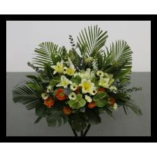 Funeral flower arrangement Rest in Peace