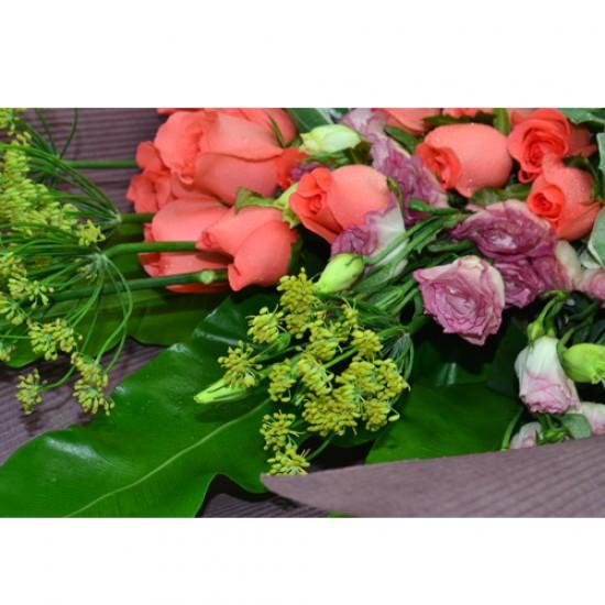 Three Dozen Roses Bouquet