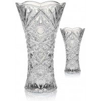 Clear Glasses Vase 10 Inches Height